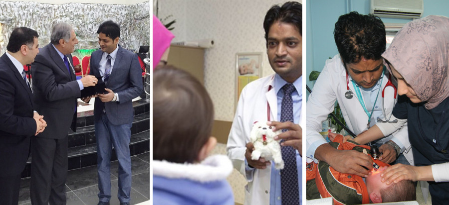 Nepali Dr Binod Kumar Sah named Turkey's 'doctor of the year'