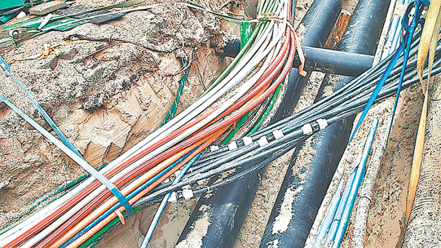 Power cables to be laid underground in central Ktm on