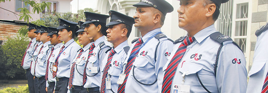 Private security firms employ 100k guards