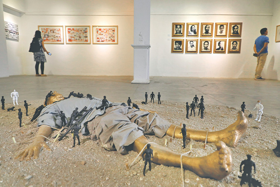 Himalayan Art Festival showcases traditional alongside contemporary art