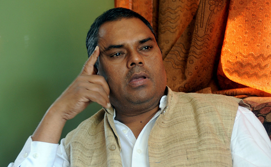 Samajbadi Party pulls out of government, Upendra Yadav resigns