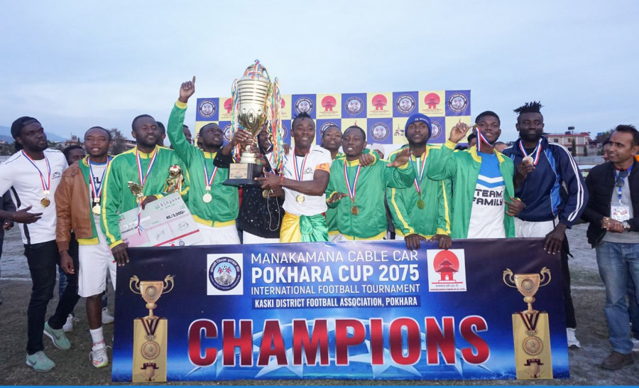 Dauphins clinch Pokhara Cup