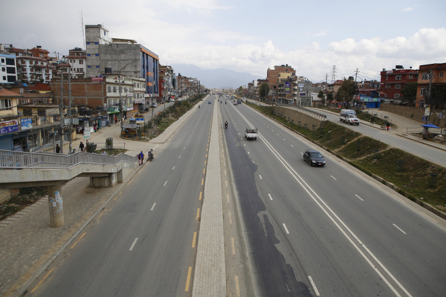 Nepal goes under lockdown for a week starting 6am Tuesday