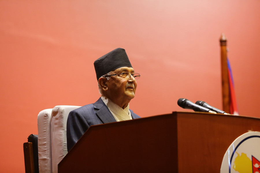 Police arrest youth for speaking ill about PM Oli, Dahal